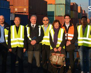 06.12.2016 Ortsbesichtigung mit Investor Herr Niu für das Projekt China-Trade-Center