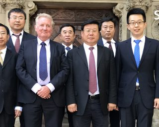 Delegationsbesuch der Cangzhou Bohai New Area in Duisburg am 14.06.2017