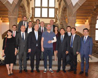 中南高科集团代表团访问德国