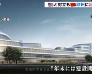 日本TBS电视台采访星海集团总经理王耀敏女士